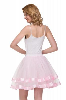 Hoop skirt short cheap | Ball gown with hoop skirt_19
