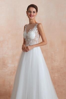 Schlichte Hochzeitskleider A Linie | Elegante Brautkleider Online Kaufen_8