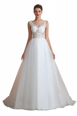Schlichte Hochzeitskleider A Linie | Elegante Brautkleider Online Kaufen_2