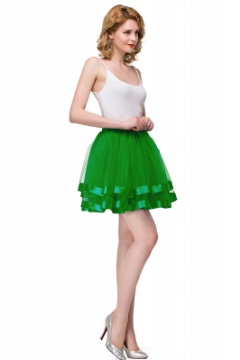 Hoop skirt short cheap | Ball gown with hoop skirt_35
