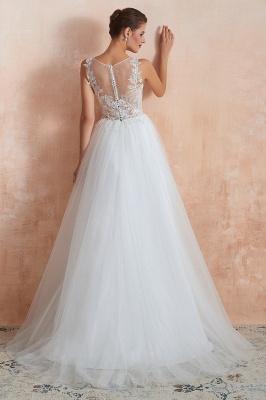 Schlichte Hochzeitskleider A Linie | Elegante Brautkleider Online Kaufen_7