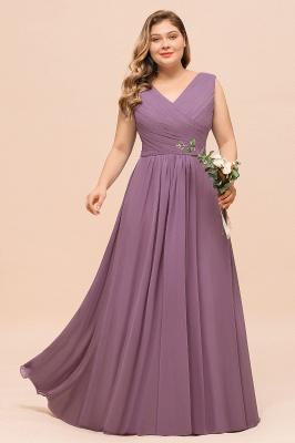 Flieder Brautjungfernkleider Große Größe | Kleider Für Brautjungfern_4