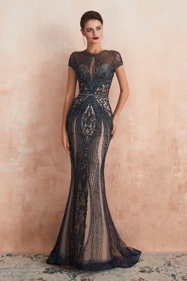 Prom Dresses Long Black | Evening dress with glitter_14