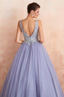 Designer Evening Dress Long V Neck | Evening wear online_10