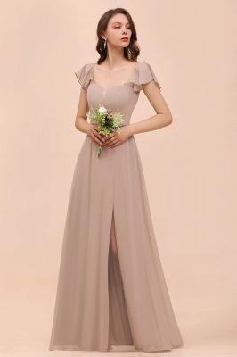 Champagne Brautjungfernkleider Lang | Günstiges Kleid Für Brautjungfern_5