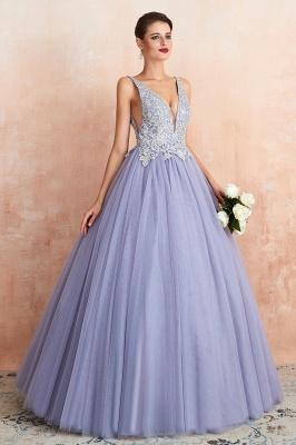 Designer Evening Dress Long V Neck | Evening wear online_5