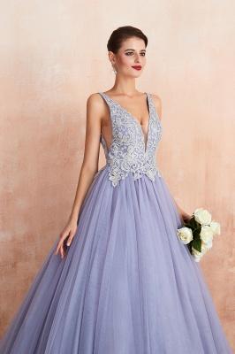 Designer Evening Dress Long V Neck | Evening wear online_9