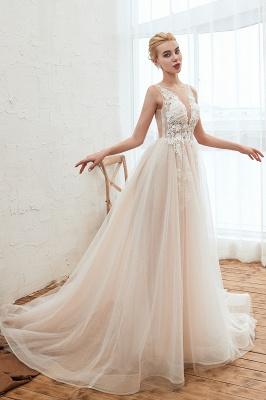 Schöne Hochzeitskleid A linie | Brautkleider Günstig Online Kaufen_14