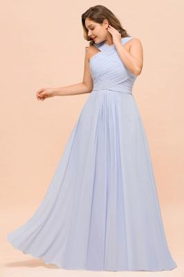 Lavender Brautjungfernkleider Große Größe | Chiffon Kleider Lang Günstig_6