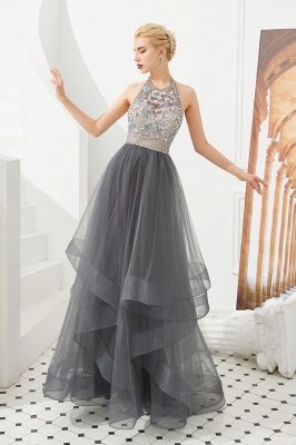 Long prom dresses with glitter | Evening wear online_1