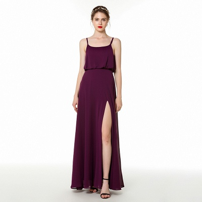 Simple evening dresses long cheap | Chiffon dresses