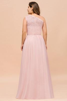Elegante Brautjungfernkleider Lang Rosa | Brautjungfernkleid mit Spitze_3