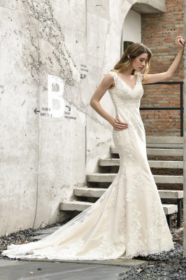 Modern wedding dress mermaid | Wedding dresses circumstance_6