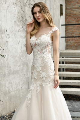 Gorgeous Wedding Dresses With Lace | Mermaid wedding dresses_3