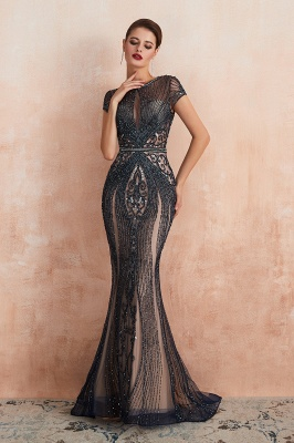 Prom Dresses Long Black | Evening dress with glitter_11
