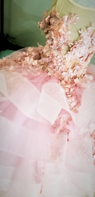 Flower girl dress dusty pink | Wedding flower girl dress_5
