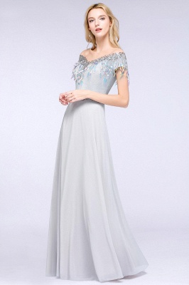 Beautiful evening dresses with sleeves   Prom dresses long cheap_4