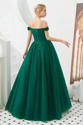 Evening dress long green | Prom Dresses Cheap Online_10