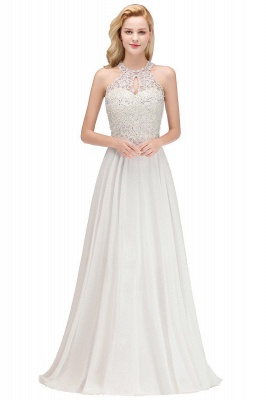 Evening dress long white | Prom Dresses Cheap Online_5