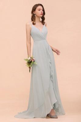 Brautjungfernkleider Lang Mint Grün | Hochzeitspartykleider Günstig Online_2