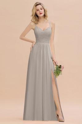 Coral Brautjungfernkleider Lang Günstig   Hochzeitsgäste Kleider_30