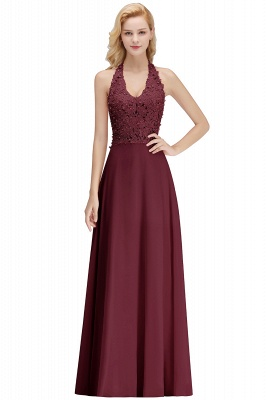 Silver Evening Dresses Long V Neck | Evening dress with lace_3
