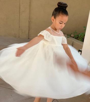 Flower girl dresses wedding | Flower girl dress Ivory_3