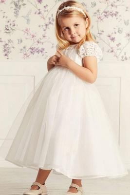 Blumenmädchen Kleider Lang Tüll | Blumenmädchenkleider für Kinder_1