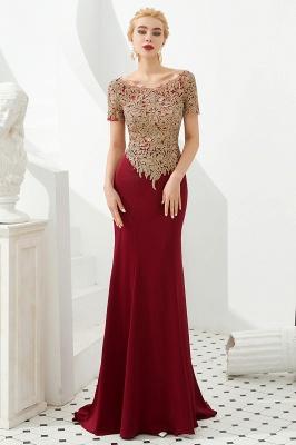 Abendkleider Lang Glitzer | Rote Abiballkleider Mit Ärmel_2