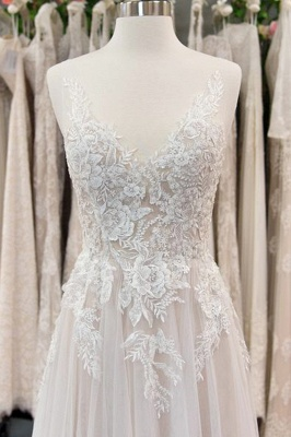 Gorgeous Wedding Dresses With Lace | Wedding Dress A Line Online_3