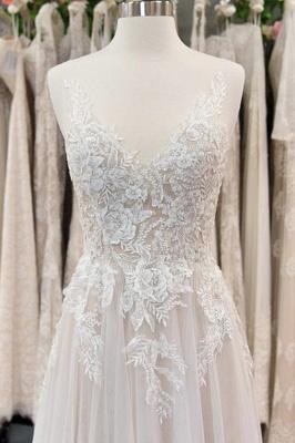 Wunderschöne Brautkleider Mit Spitze | Hochzeitskleid A Linie Online_3