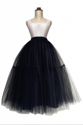 Hoop skirt a line | Hoop Skirts Wedding Black