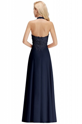 Silver Evening Dresses Long V Neck | Evening dress with lace_22