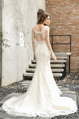 Modern wedding dress mermaid | Wedding dresses circumstance_3