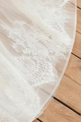 Elegante Hochzeitskleid A linie | Brautkleider Chiffon Günstig Online_12
