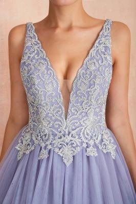 Designer Evening Dress Long V Neck | Evening wear online_8