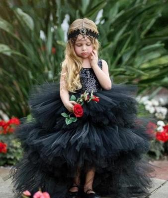 Beautiful Black Flower Girl Dresses | Flower girl dress long_3