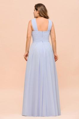 Lavender Brautjungfernkleider Große Größe | Chiffon Kleider Lang Günstig_3