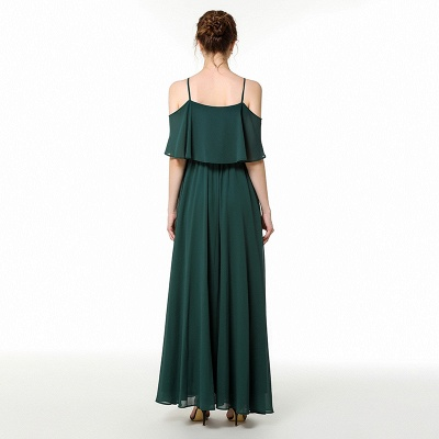 Evening dress green | Festive chiffon dresses_5