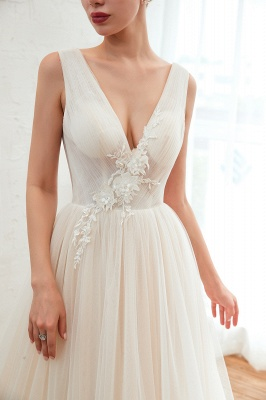 Elegant wedding dress A line | Chiffon wedding dresses cheap online_10