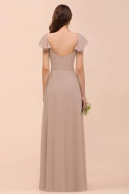 Champagne Brautjungfernkleider Lang | Günstiges Kleid Für Brautjungfern_2