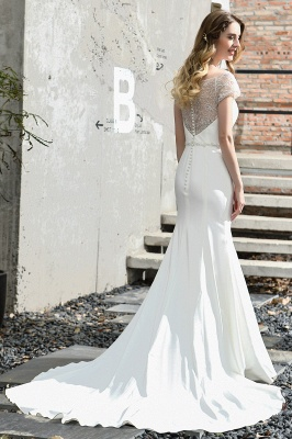 Mermaid wedding dresses | Wedding dress with lace_11