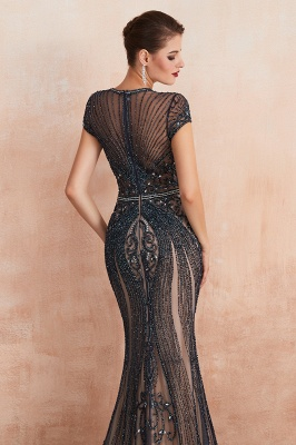 Prom Dresses Long Black | Evening dress with glitter_19