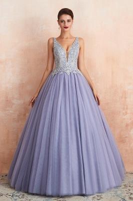 Designer Evening Dress Long V Neck | Evening wear online_4