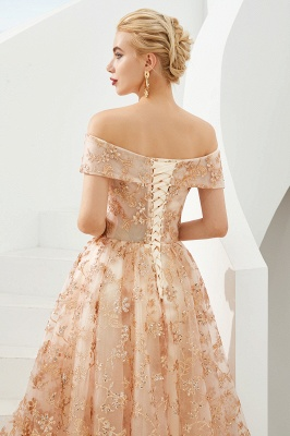 Beautiful evening dresses with lace | Prom dresses long cheap_8