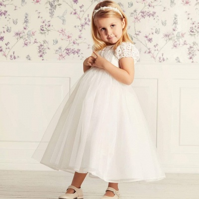 Flower Girl Dresses Long Tulle | Flower girl dresses for children_4