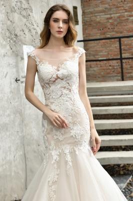 Gorgeous Wedding Dresses With Lace | Mermaid wedding dresses_6