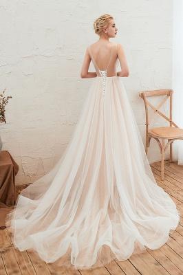 Schöne Hochzeitskleid A linie | Brautkleider Günstig Online Kaufen_16