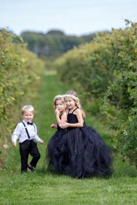 Blumenmädchenkleider für Kinder   Blumenmädchen Kleider Hochzeit_1