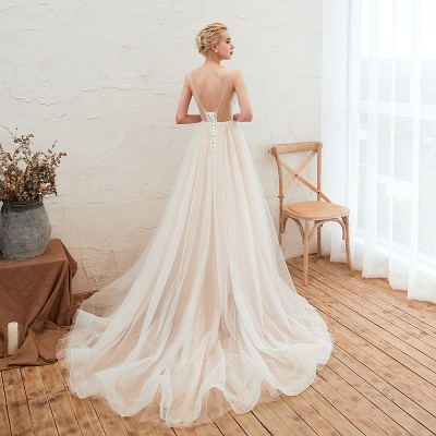 Schöne Hochzeitskleid A linie | Brautkleider Günstig Online Kaufen_13